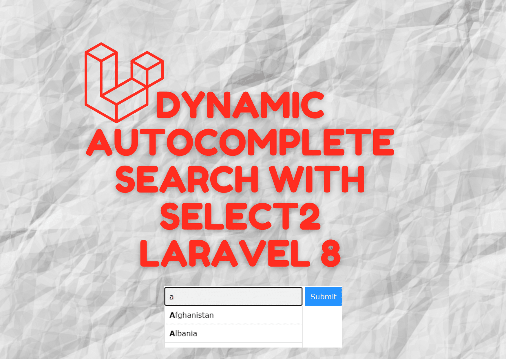 Laravel 8 Autocomplete Search from Database with typeahead Js