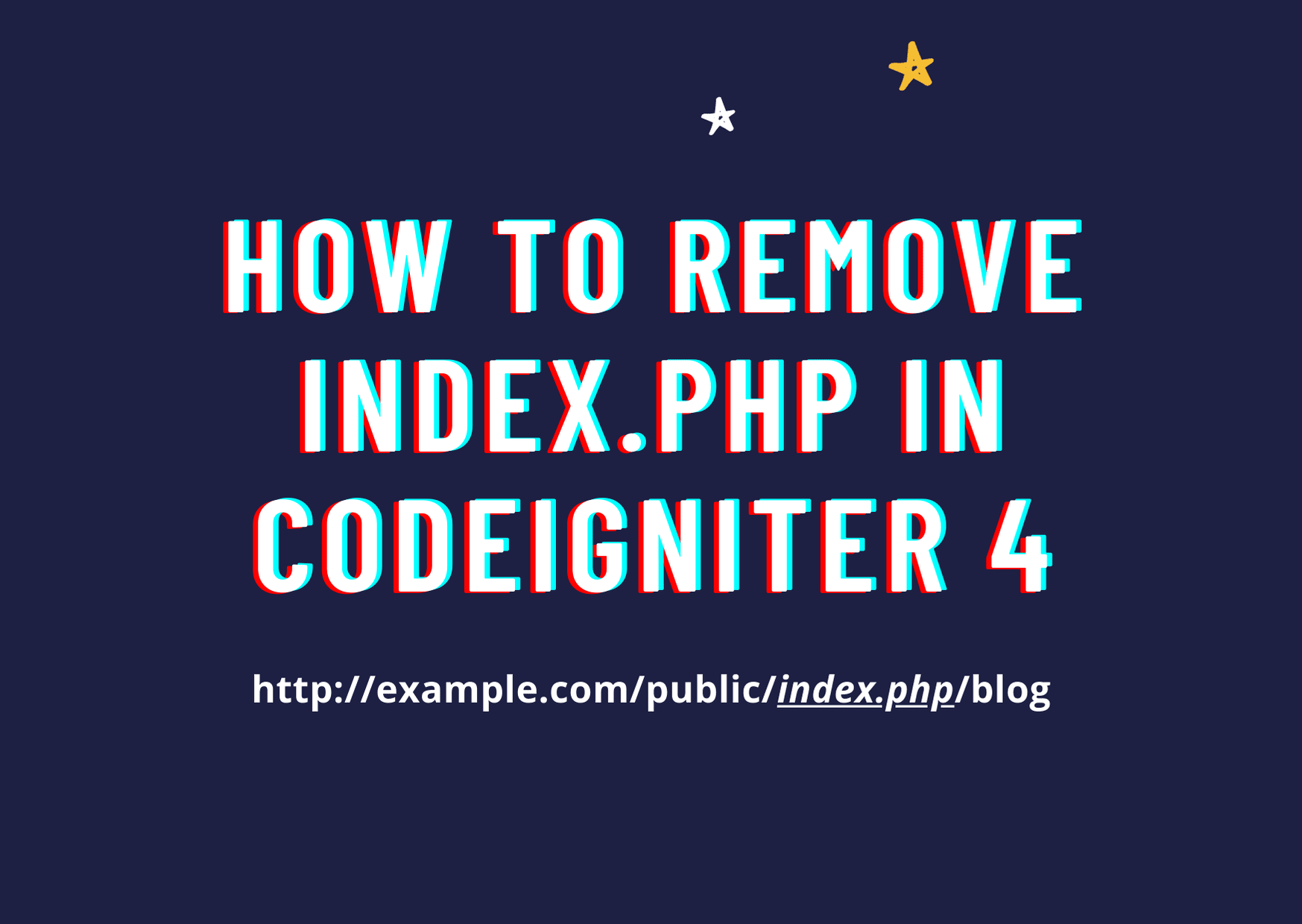 How to remove public/index.php/ from URL in Codeigniter 4